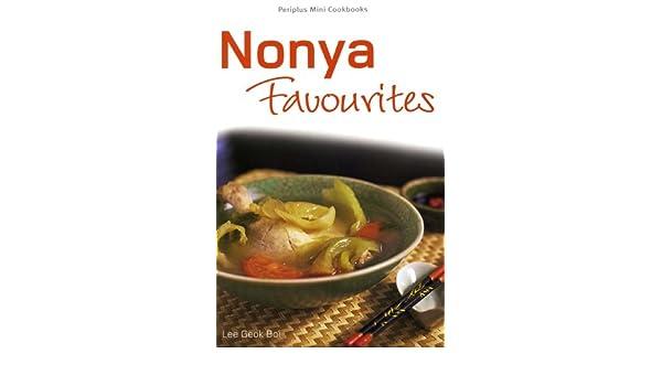 Amazon Mini Nonya Favourites Periplus Mini Cookbook Series