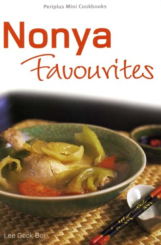 Mini Nonya Favourites (Periplus Mini Cookbook Series) by Lee Geok Boi