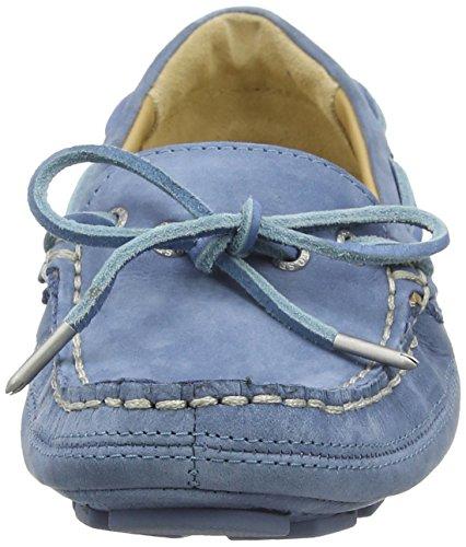 Sebago Kedge Tie, Mocassini Donna Azul - Blau (Blue Nubuck)