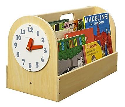 Tidy Books TB-W - Scatola per libri, 34 x 54 x 28 cm, colore: Bianco