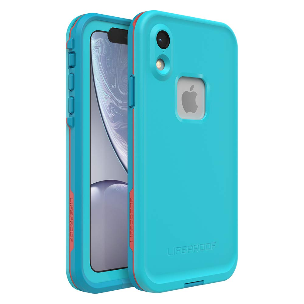 Lifeproof FRĒ SERIES Waterproof Case for iPhone XR - Retail Packaging - BOOSTED (BLUE ATOLL/HAWAIIAN OCEAN/EMBERGLOW)