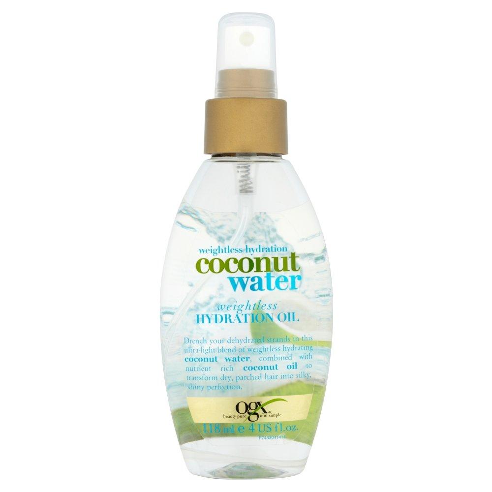 Aceite hidratante OGX Coconut Water Weightless, 118ml 97433