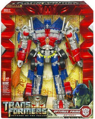 Amazon Com Transformers Leader Optimus Prime Toys Games