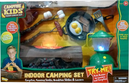 - CAMPFIRE KIDS INDOOR CAMPING SET
