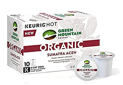 Green Mountain Organic Coffee K-cups 30 Pack(3 10 Packs)