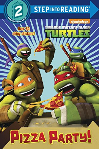 Pizza Party Teenage Mutant Ninja Turtles Step into Reading