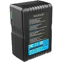 MAXOAK 177 (12000mAh/14.8V) V Mount Battery for Video Camera Camcorder (not for RED series)