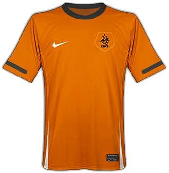 Nike Dutch Camiseta de fútbol para hombre naranja Talla:medium: Amazon.es: Deportes y aire libre
