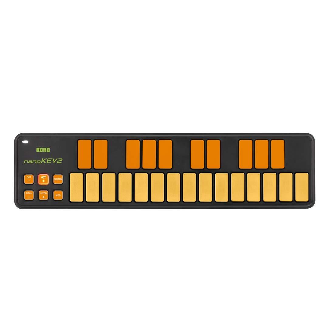 Korg nanoKEY2 Keyboard Controller - Orange/Green Limited Edition by Korg (Image #1)