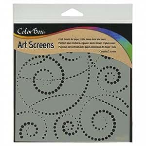 "ColorBox Screens 6""X6""-Swirldot"