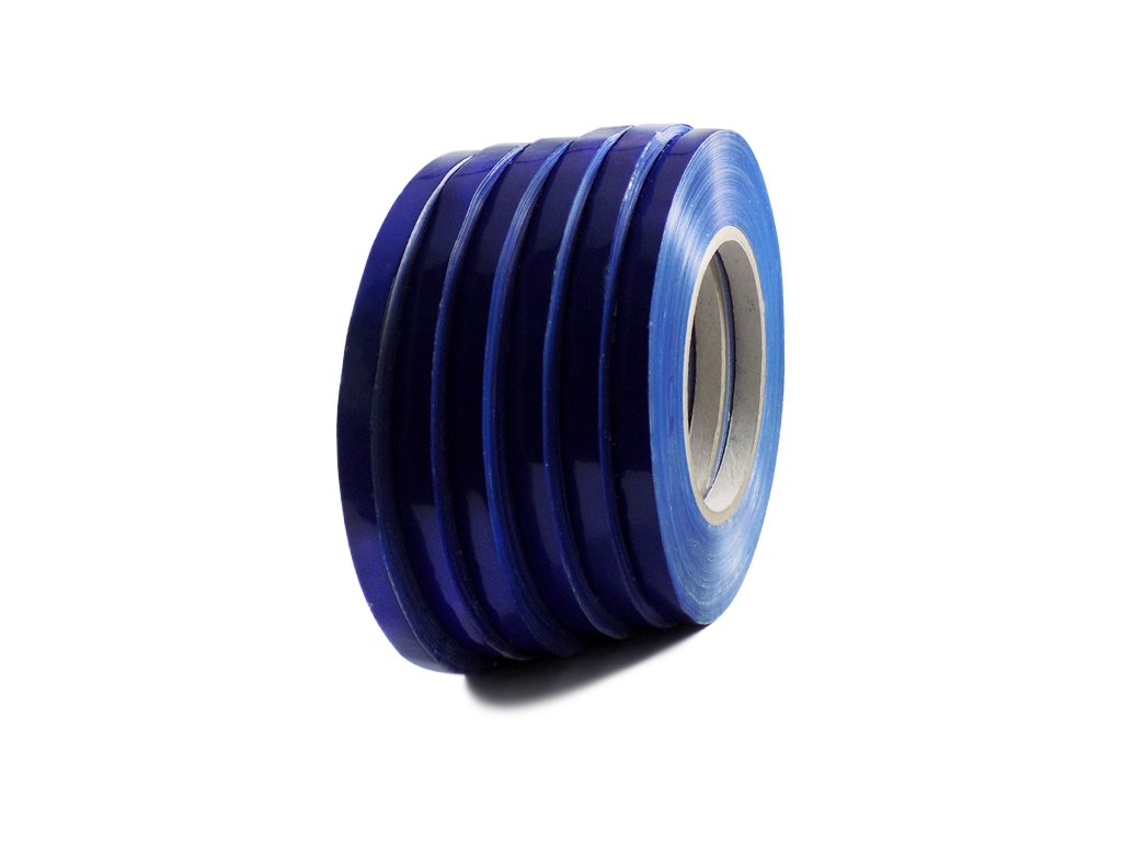 T.R.U. UPVC-24BS Dark Blue Poly Bag Sealing Tape: 3/8 in. x 180 yds. (Pack of 10)