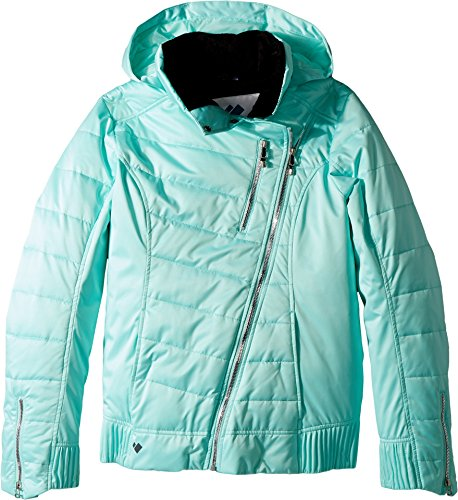 Obermeyer Kids Girl's Aisha Jacket (Big Kids) Seaglass X-Large by Obermeyer Kids