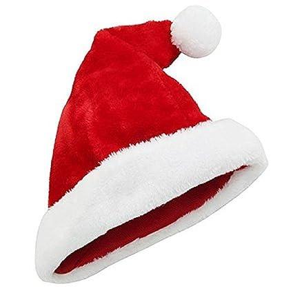 f988c8cbab4cd Amazon.com  OTC Plush Santa Hat Red  Toys   Games