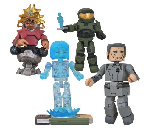 DIAMOND SELECT TOYS Halo Minimates Series 4 Box Set