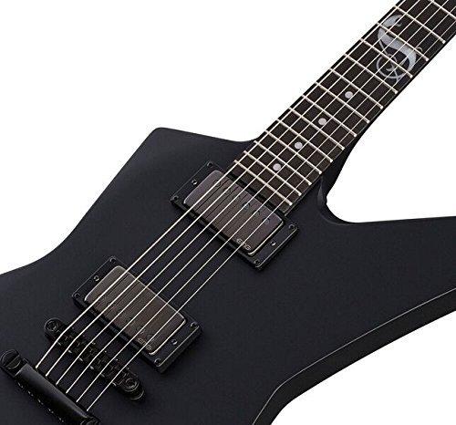 ESP LTD Snakebyte Signature Series James Hetfield Electric Guitar with Case, Black Satin