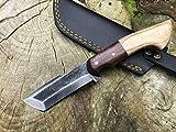 Perkin PK999 Hunting Knife with Sheath Fix Blade