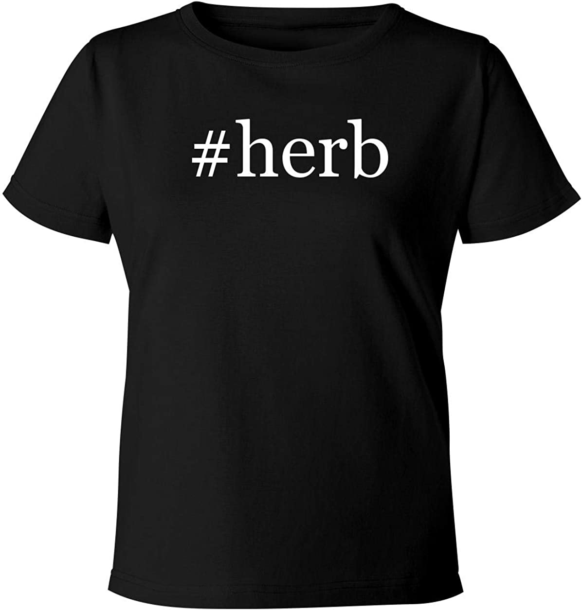 #herb - Women's Soft & Comfortable Hashtag Misses Cut T-Shirt