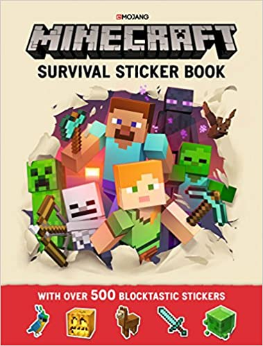 Minecraft Survival Sticker Book: An Official Minecraft Book From