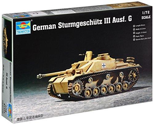 Trumpeter 1/72 German Sturmgeschutz III Ausf G (Sturmgeschutz Iii Tank)
