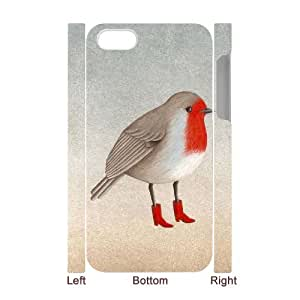 ZOEHOME Phone Case Of Like human animal ,Hard Case !Slim and Light weight and won't fade, Scratch proof and Water proof.Compatible with All Carriers Allows access to all buttons and ports. For ZOEHOME 4/4s