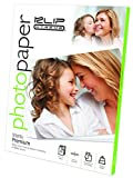 Klip Xtreme Matte Finish Photo Paper- 8.5in x 11in - 50 Sheets -Page Pack - 8.4 Mil Thickness