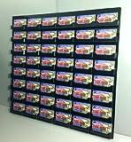 Marketing Holders 48 Pocket Black Wall Mount Business Card Display Holder New