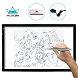 Huion A2 Large Tracing Light Box, AC Powered Light Pad, Adjustable Brightness (20.47'' X 12.6'')