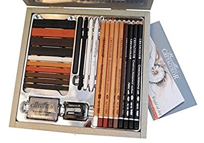 Cretacolor Passion Wood Box Set 25Pc