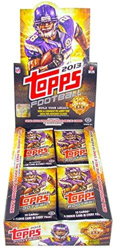 2013 Topps Mini Cards Football Hobby Box - 1 Auto/1 Memorabilia box.
