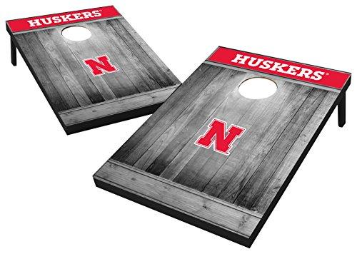 Wild Sports 2'x3' MDF Wood NCAA College Nebraska Cornhuskers Cornhole -
