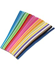 OKBOY 540/1030/1350PCS 27 Color Mixed Solid Candy Color Star Handcraft Paper,Can Write Handmade DIY Lucky Star Origami Paper Strip