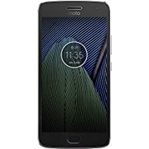 Motorola Moto G5 Plus, Dual SIM, 32GB Unlocked Lunar Gray - International Version