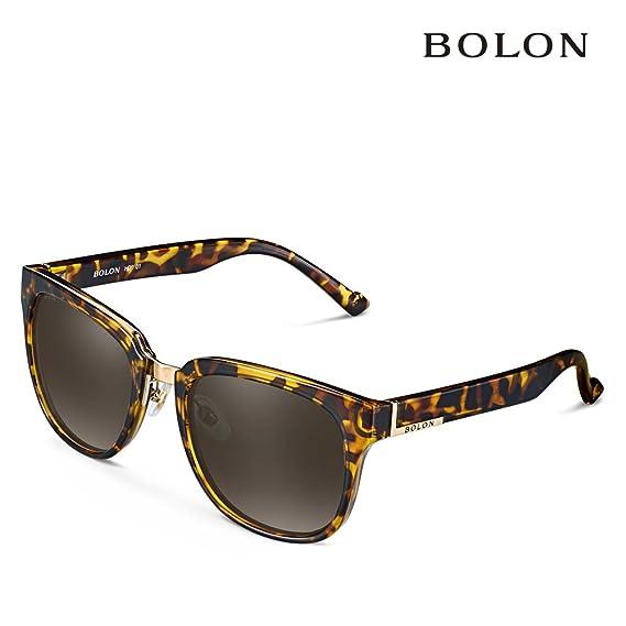 BOLON BL2353 - Gafas diseño italiano - Polarizadas HD - Cristal de alta calidad - Premium sunglasses - Ultima moda (Marron)