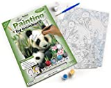 Royal & Langnickel Painting by Numbers A4 Size Panda and Baby Designed Painting Set