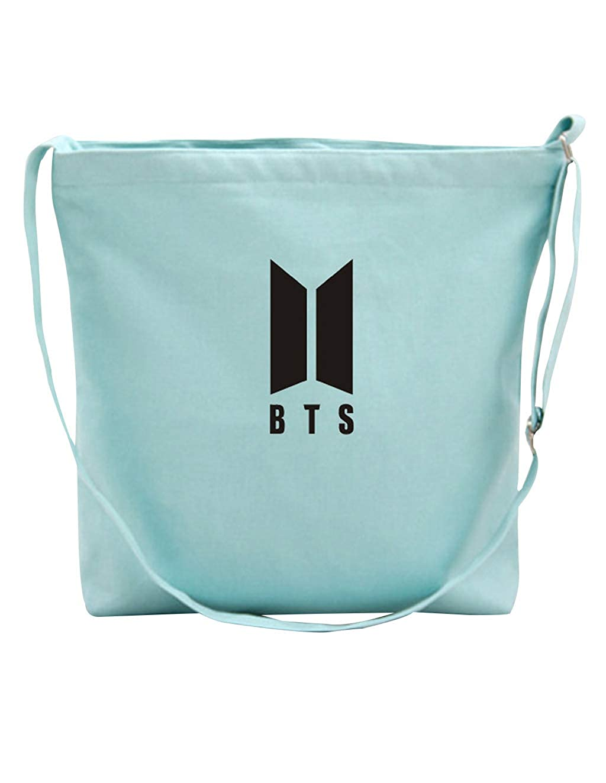 BTS Casual Messenger Bag Crossbody Bag Shoulder Bag Travel Bag Handbag Tote Bag Purse
