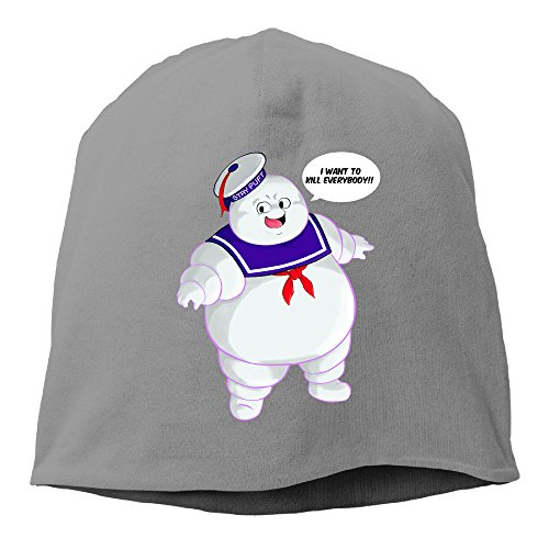 Terraria Custom Costumes (YUVIA Stay Puft Ghostbusters By Christianimas Men's&Women's Patch Beanie SkiingDeepHeather Hat For Autumn And Winter)