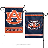 NCAA Auburn University Tigers 12x18 Inch 2-Sided Outdoor Garden Flag Banner