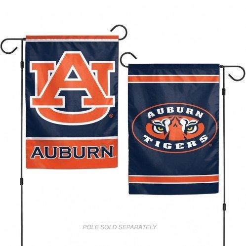 Auburn University Garden (WinCraft NCAA Auburn University Tigers 12x18 Inch 2-Sided Outdoor Garden Flag Banner)