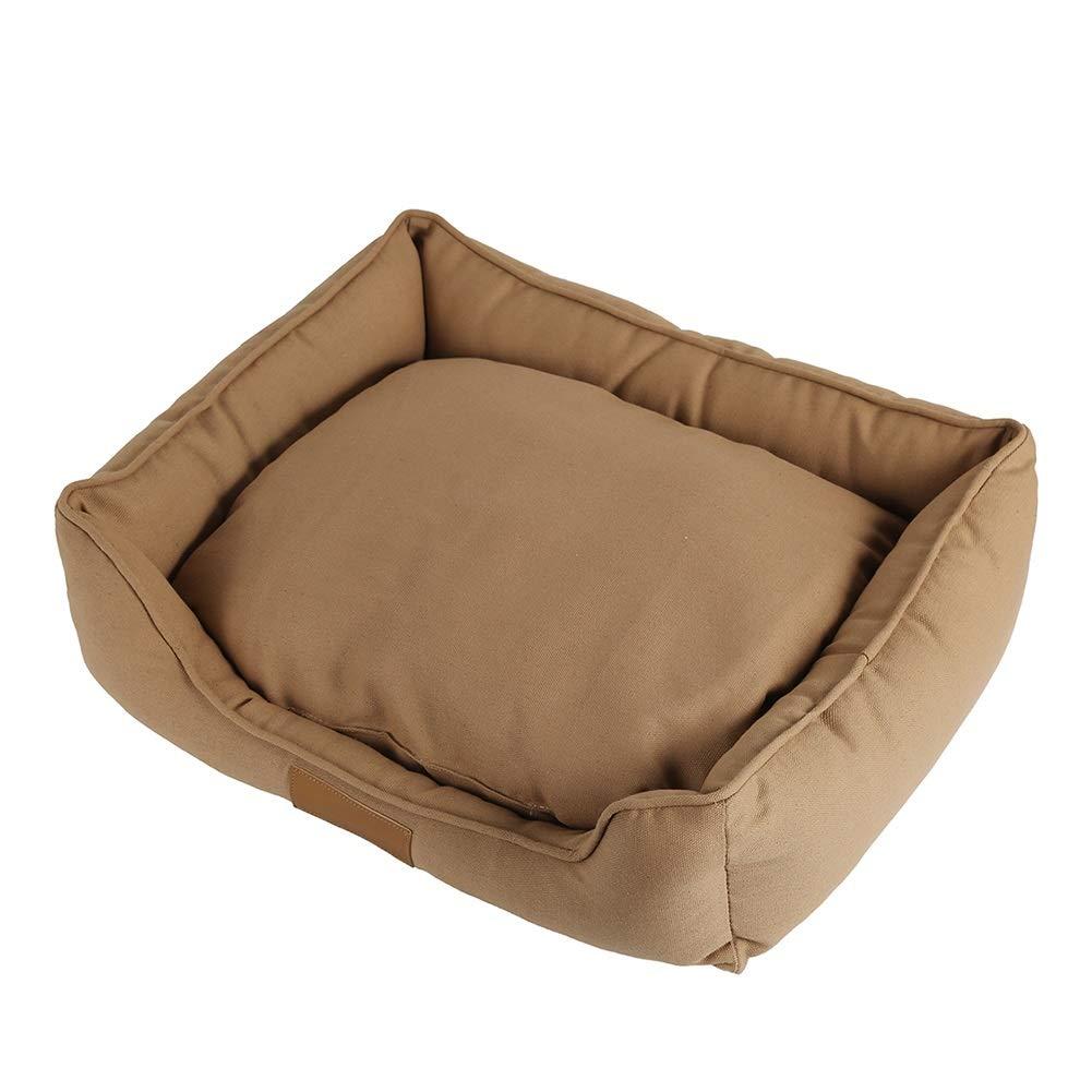 solo per te Animale Animale Animale Domestico Letto Impermeabile Divano Traspirante Removibile Copertina Cuscino per Gatto Cane Marronee (Dimensioni   M(55  45  15cm))  alla moda
