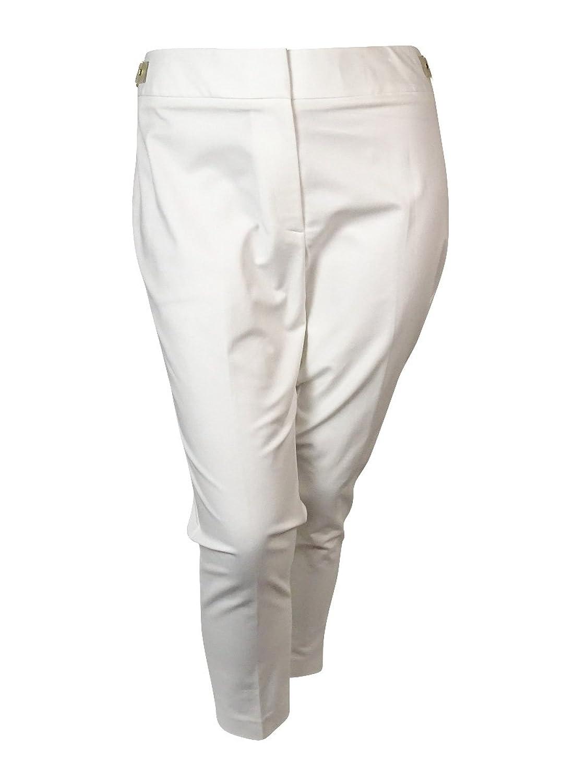 Calvin Klein Women's Cropped Buckle Pants