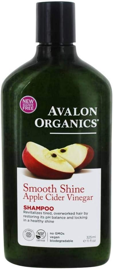 Avalon Organics, Shampoo Apple Cider Vinegar, 11 Fl Oz