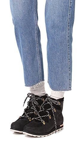 f7292ad3eac Sorel SNEAKCHIC Alpine Ankle Boots/Boots Women Black Mid Boots:  Amazon.co.uk: Shoes & Bags