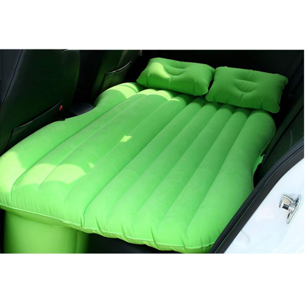 YXZN Auto Luft Bett Matratze mit Aufblasbarer Luft Bett Freier Elektrischer Luftpumpe der Luft Pumpen-Im Freien,Grün,37X28X12CM