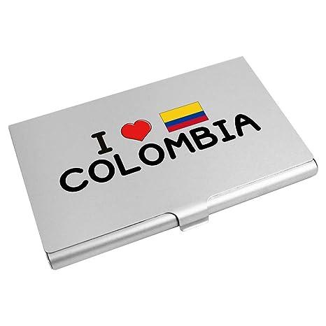 Azeeda I Love Colombia Tarjeta de Visita Titular / Tarjeta ...