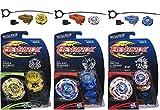 Beyblade Legends BB-99 Hades Kerbecs BD145DS Top, BB-70 Galaxy Pegasus W105R2F Top & BB-88 Meteo L-Drago LW105LF Top Bundle