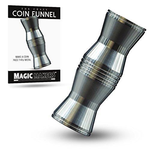 - Magic Makers Crazy Coin Funnel Trick - Make A Coin Pass Through Metal