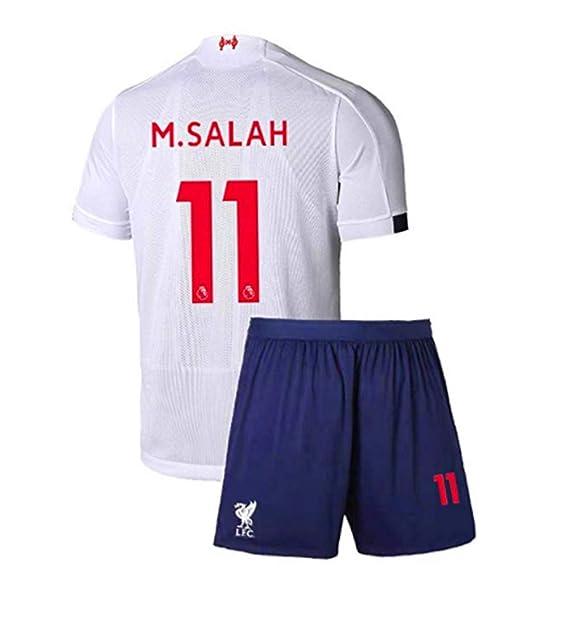 cheap for discount 32c71 f983e Amazon.com: Liverpool Away White Soccer Jerseys 2019/2020 ...