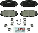 Bosch BC1210 QuietCast Premium Ceramic Disc Brake Pad Set For: Lexus HS250h; Pontiac Vibe; Scion xB, xD; Toyota Corolla, Matrix, Prius V, RAV4, Front: more info