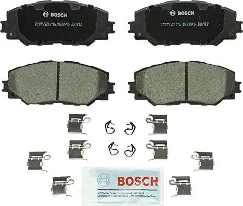 (Bosch BC1210 QuietCast Premium Ceramic Disc Brake Pad Set For: Lexus HS250h; Pontiac Vibe; Scion xB, xD; Toyota Corolla, Matrix, Prius V, RAV4, Front)