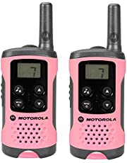 Motorola Paire de talkies walkies Motorola T41 portée en champs libre 4km Rose